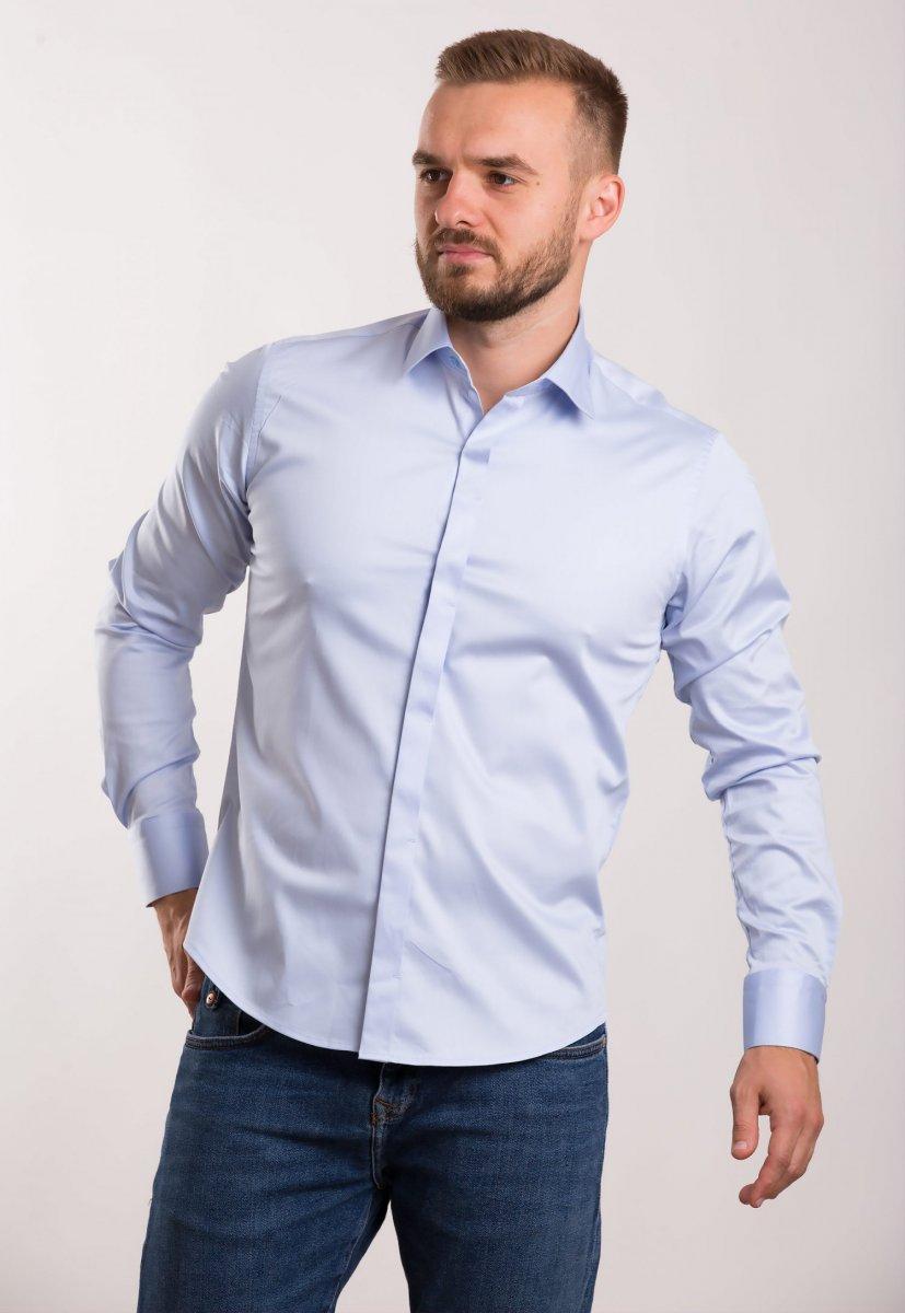 Рубашка TREND BAT 02-308 Небесный
