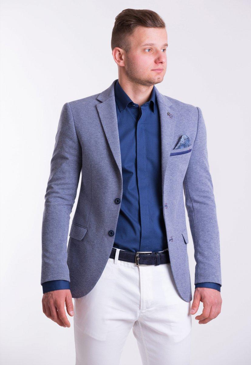 Пиджак TREND TJK-03 Серый