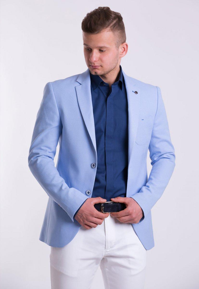 Пиджак TREND Небесный TJK-05