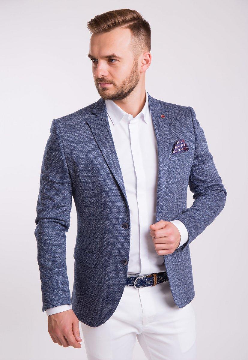 Пиджак Trend Collection 3745 Серо-синий