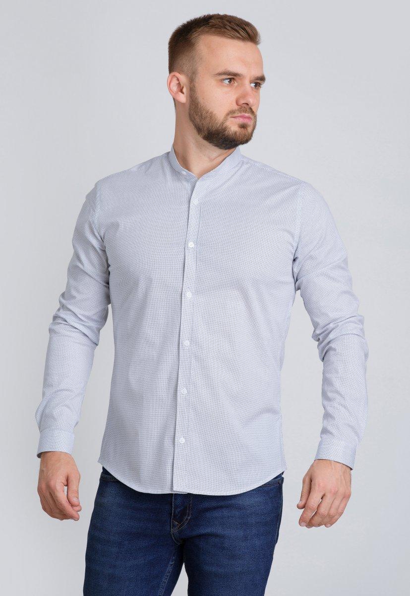 Рубашка Trend Collection U02-1047-20 Белый+точка