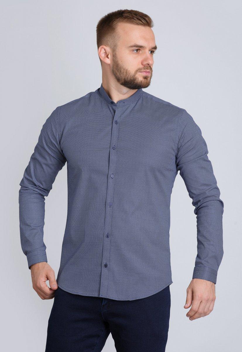 Рубашка Trend Collection U02-1047-20 Синий+точка