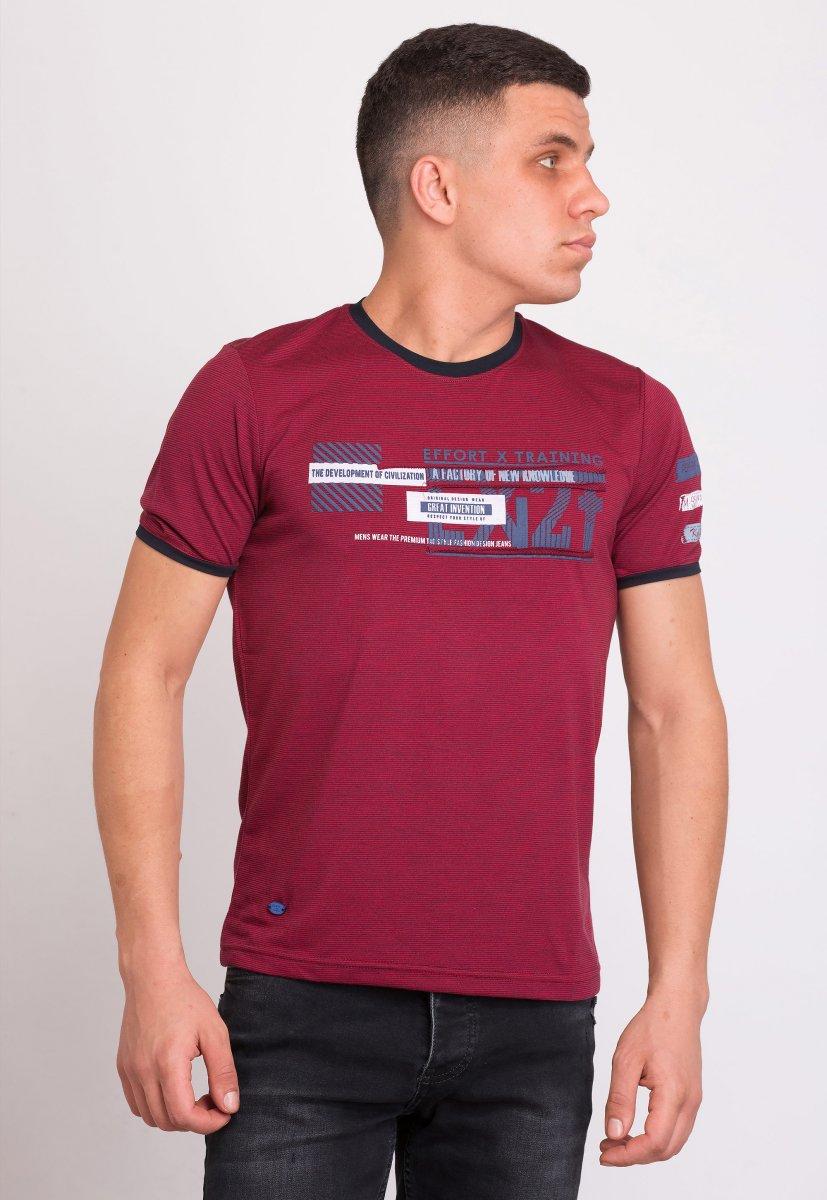 Футболка Trend Collection 8043 Бордо