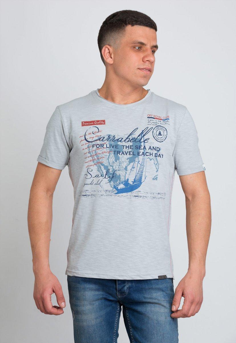 Футболка Trend Collection 8019 Серый