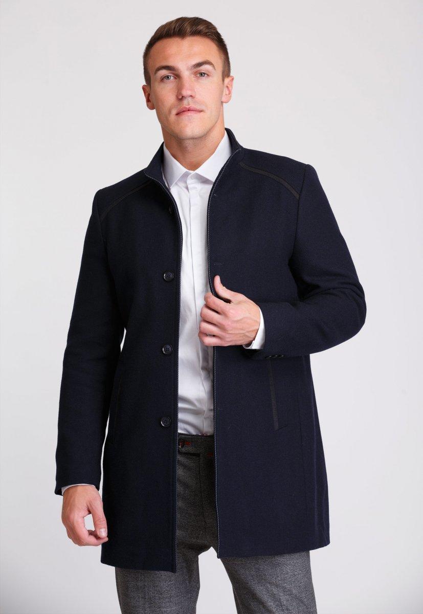 Пальто Trend Collection 515 Темно-синий