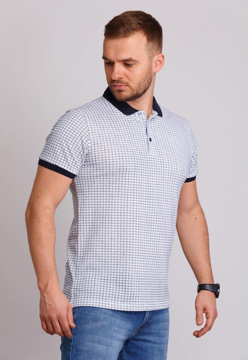 Футболка Trend Collection 8163 Белый+синий (№06)