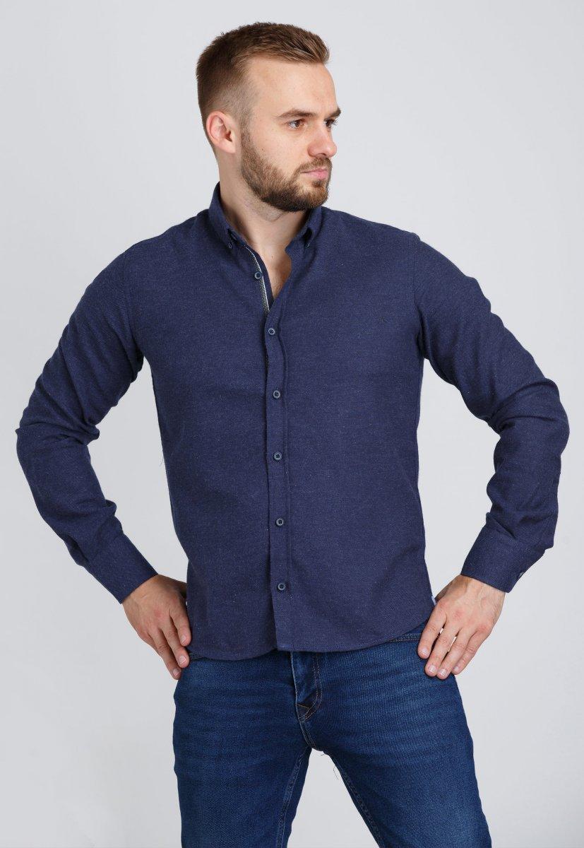 Рубашка Trend Collection U02-1001-20 Темно-синий