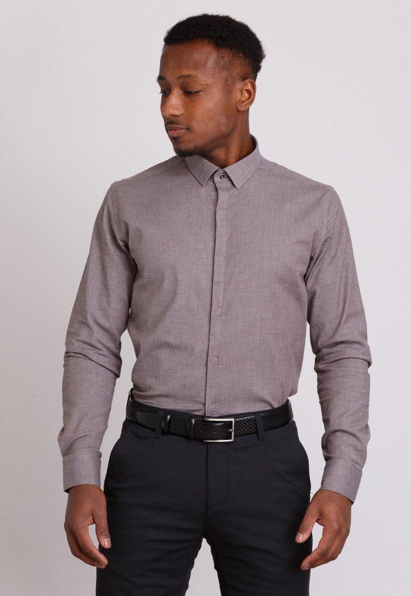 Рубашка Trend Collection 0804 Бежевый