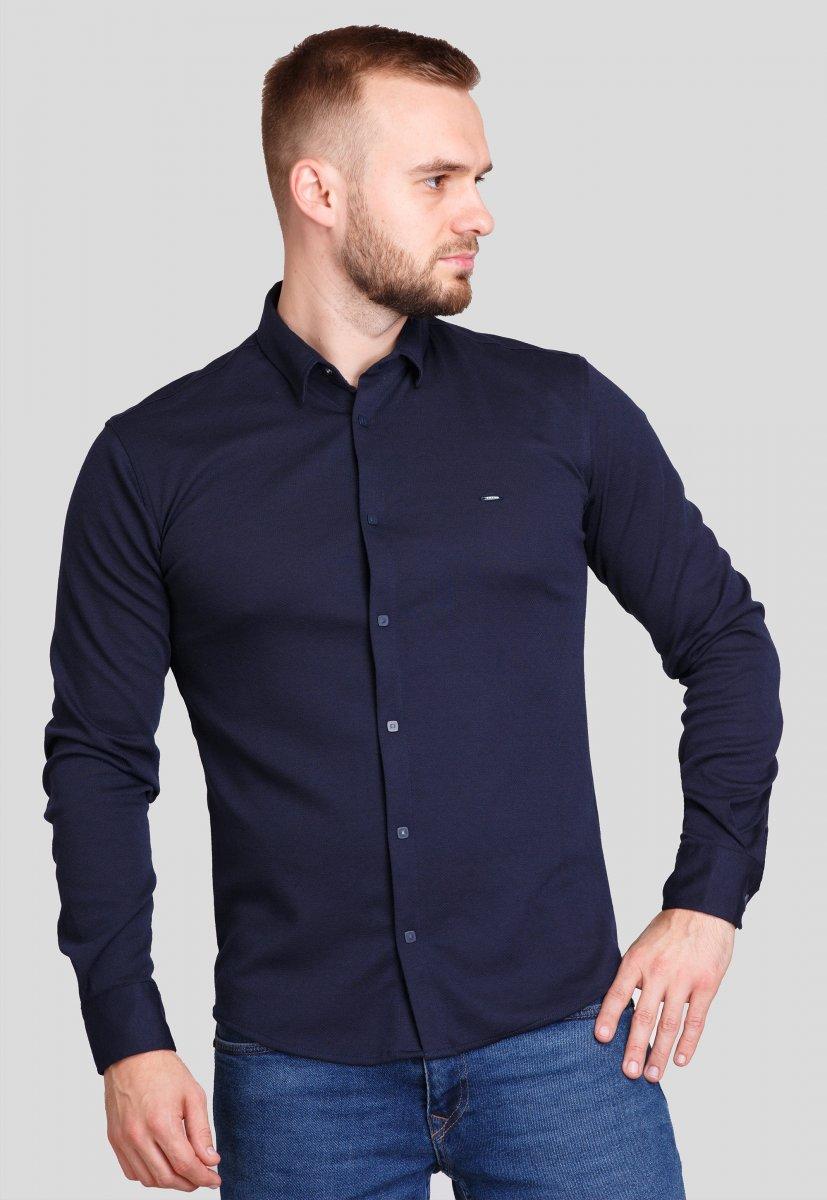 Рубашка Trend Collection 0003 Темно-синий