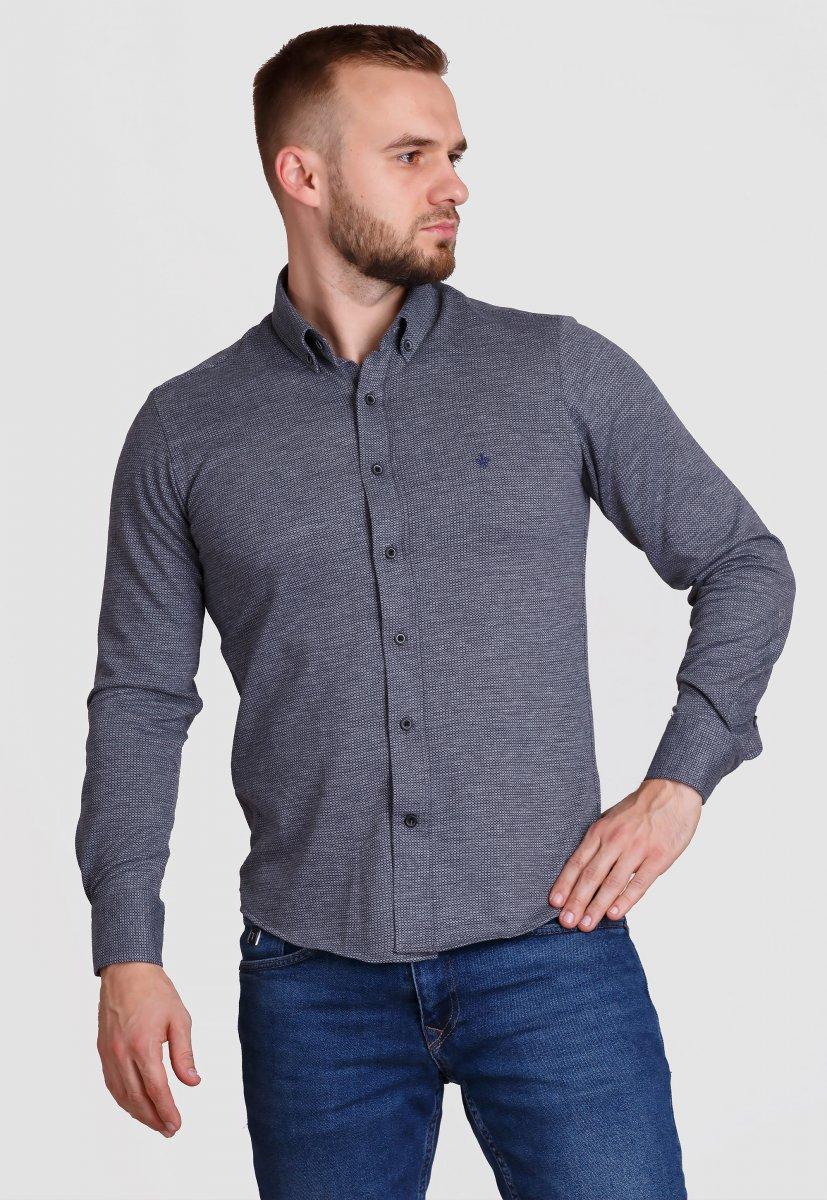 Рубашка Trend Collection 2020 Серый