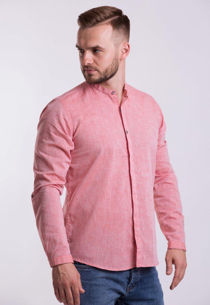 Рубашка Trend Collection U02-1105 Коралл