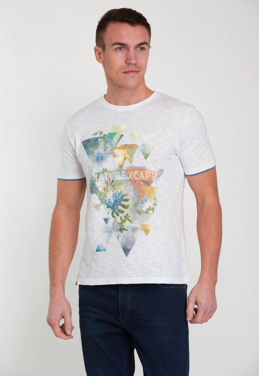 Футболка Trend Collection 8062 Белый+треугольник