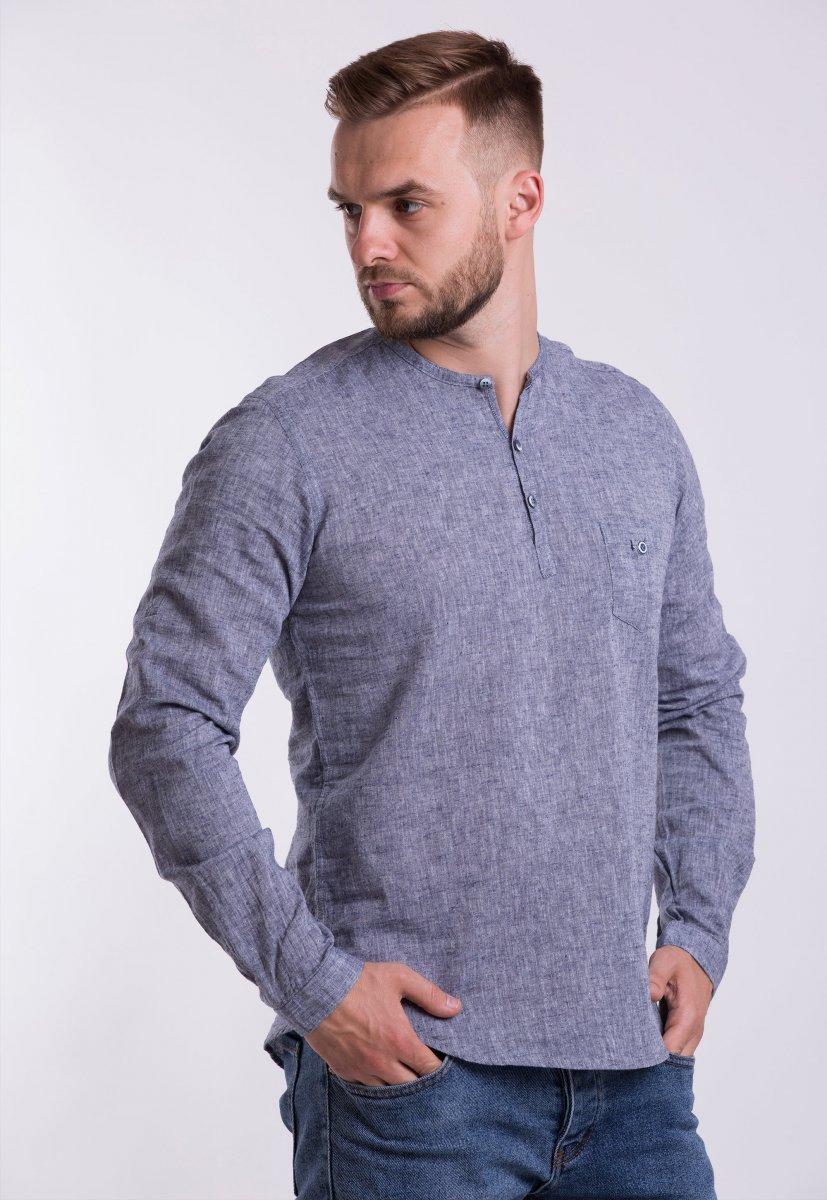 Рубашка Trend Collection U02-1077 Серый