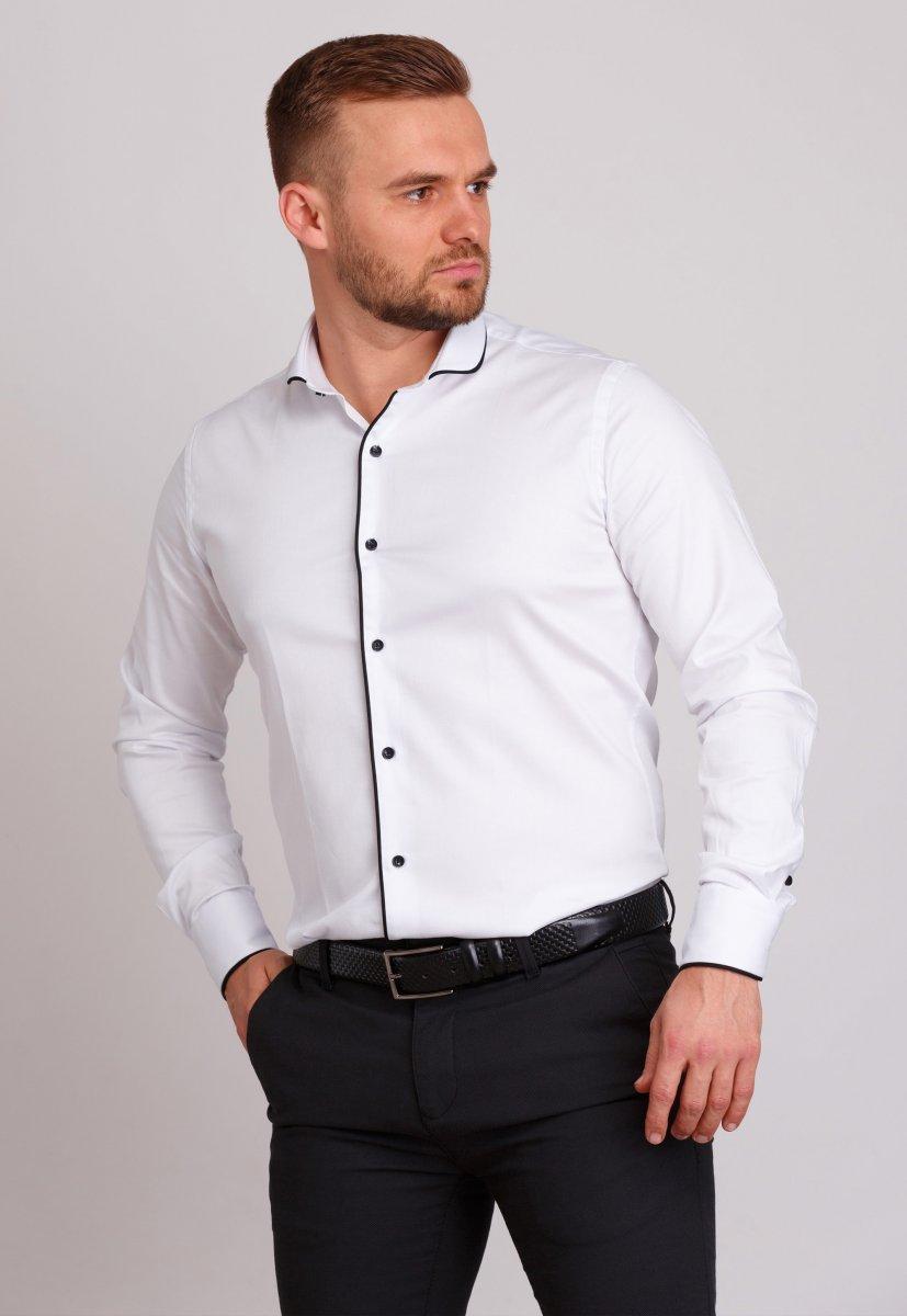 Рубашка Trend Collection 224 Белый+черный