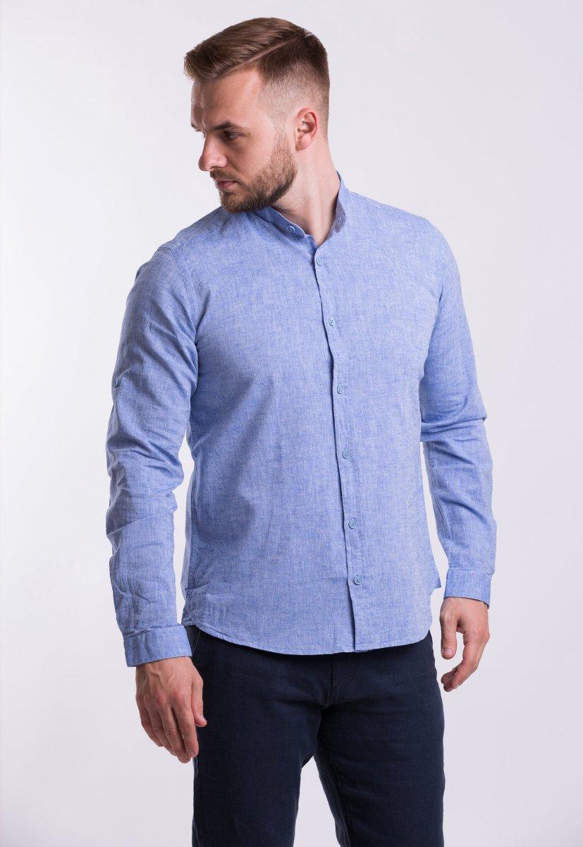 Рубашка Trend Collection U02-1046 Небесный