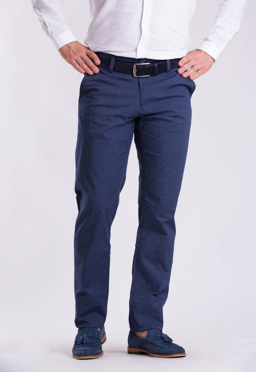 Брюки Trend Collection 12365 Синий + белая полоска (Laci)