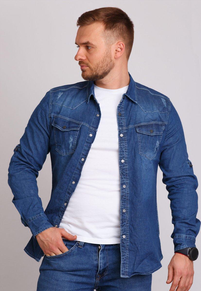 Рубашка Trend Collection 146 Светло-синий