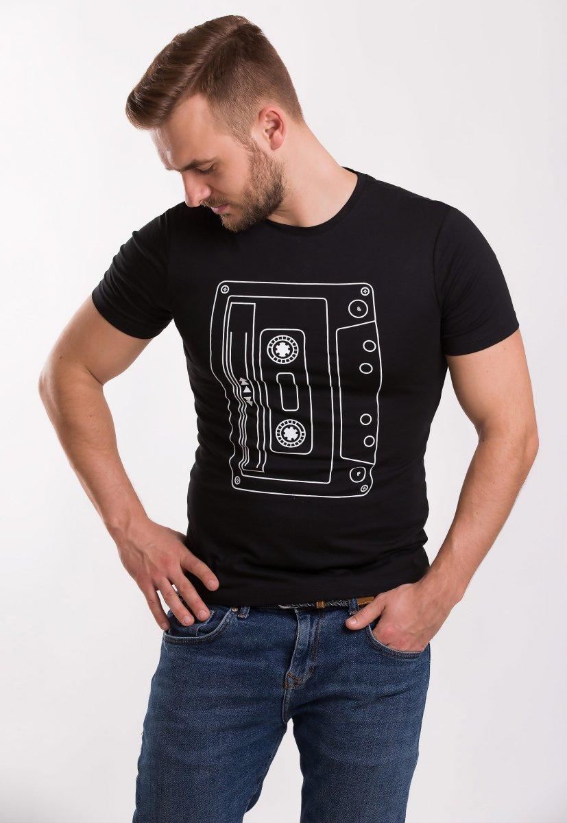 Футболка TREND Черный + кассета 6901
