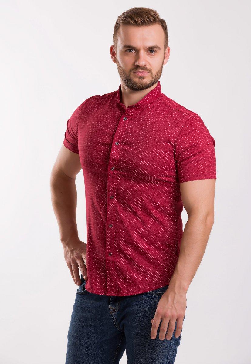 Рубашка Trend-Collection Красный + точка 18402