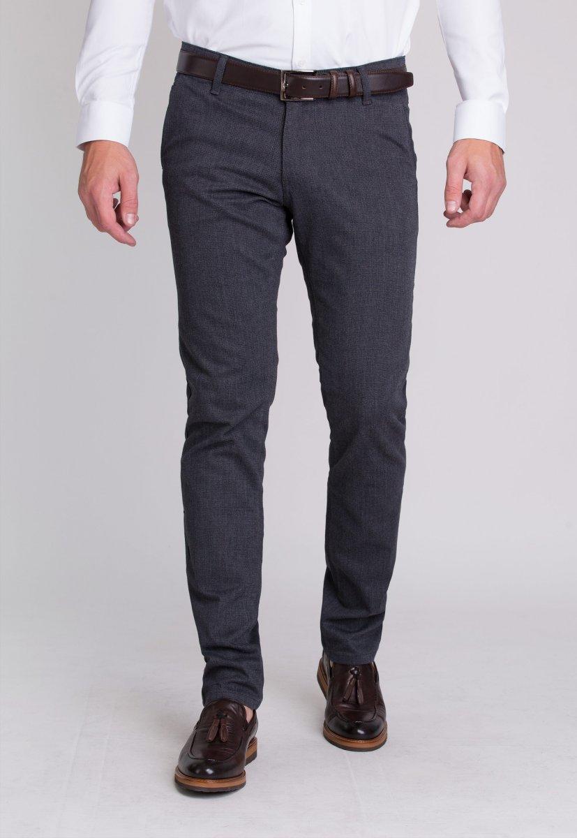 Брюки Trend Collection 12670 Синий+серый (LACI)