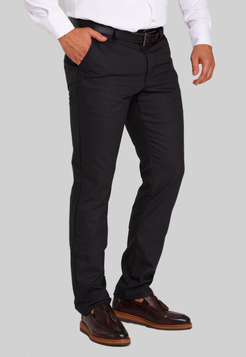 Брюки Trend Collection 20911 Черный + т.синий