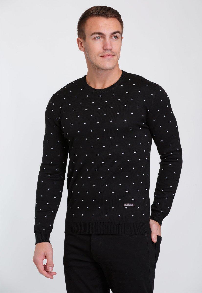 Свитер мужской Trend Collection 9673 Черный
