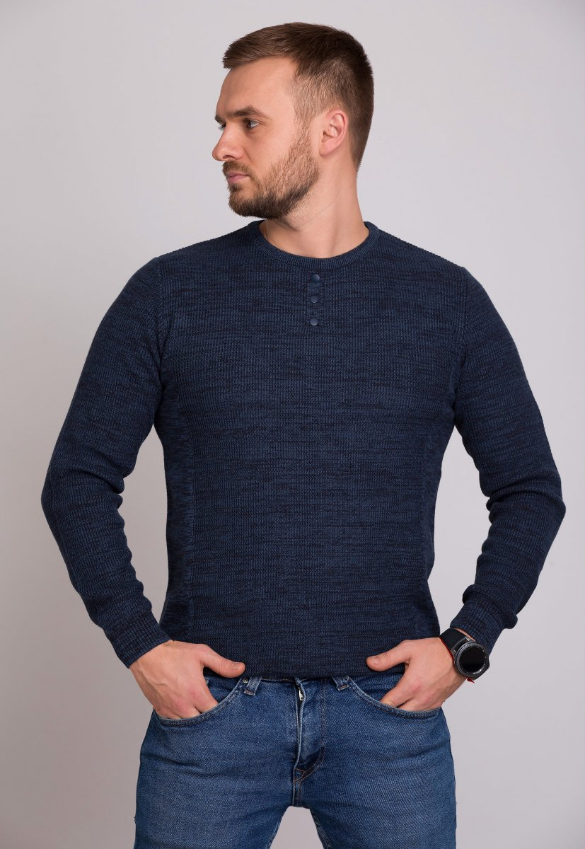 Свитер Trend Collection 0468 Синий
