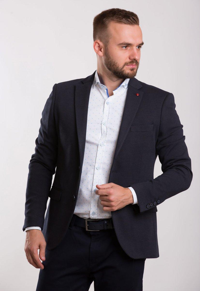 Пиджак Trend Collection 707 Синий+коричневый