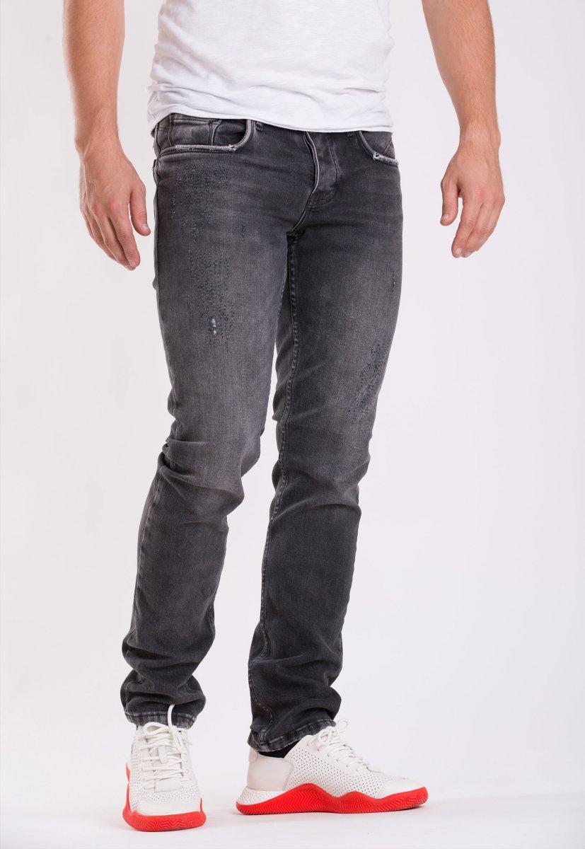 Джинсы Trend Collection 436-04 (32рост) Серый