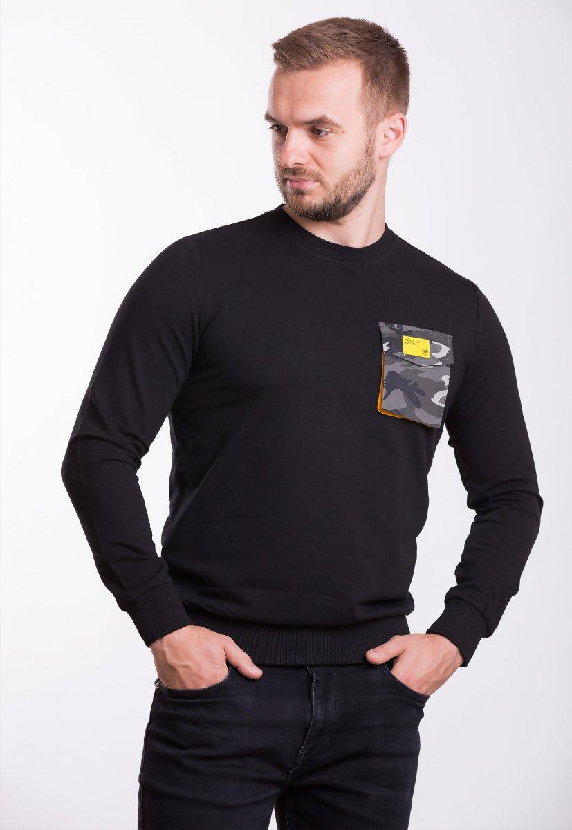 Реглан мужской Trend Collection 39069 Чёрный+карман