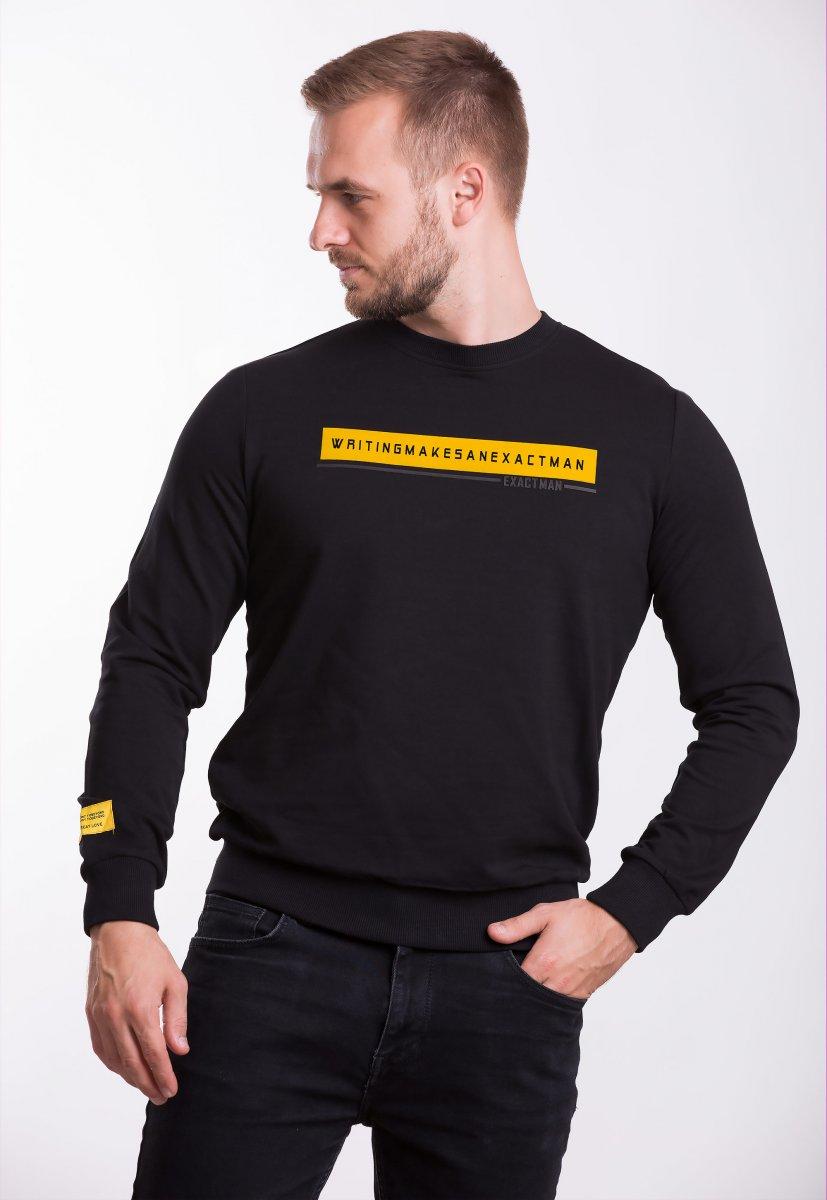 Реглан Trend Collection 338016 Черный+желтый