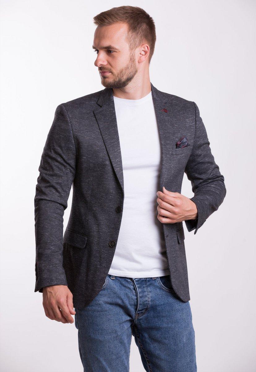 Пиджак Trend Collection TJK-009 Черный+елка