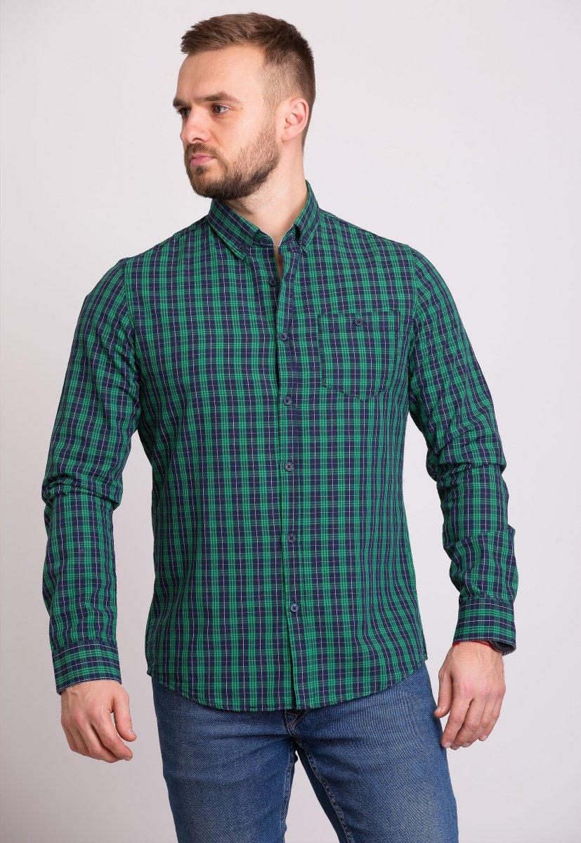 Мужская рубашка Trend Collection 32320 Зеленый