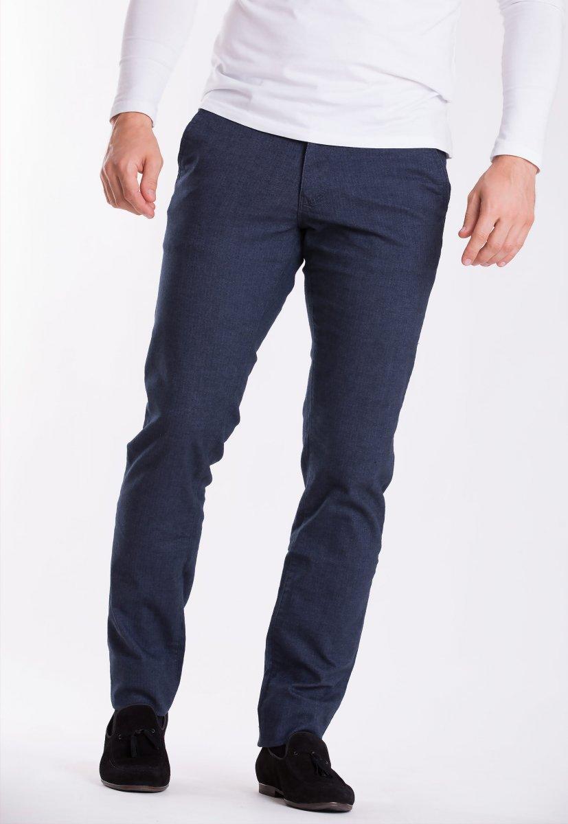 Брюки Trend Collection 12486 Синий+елка(LACI)