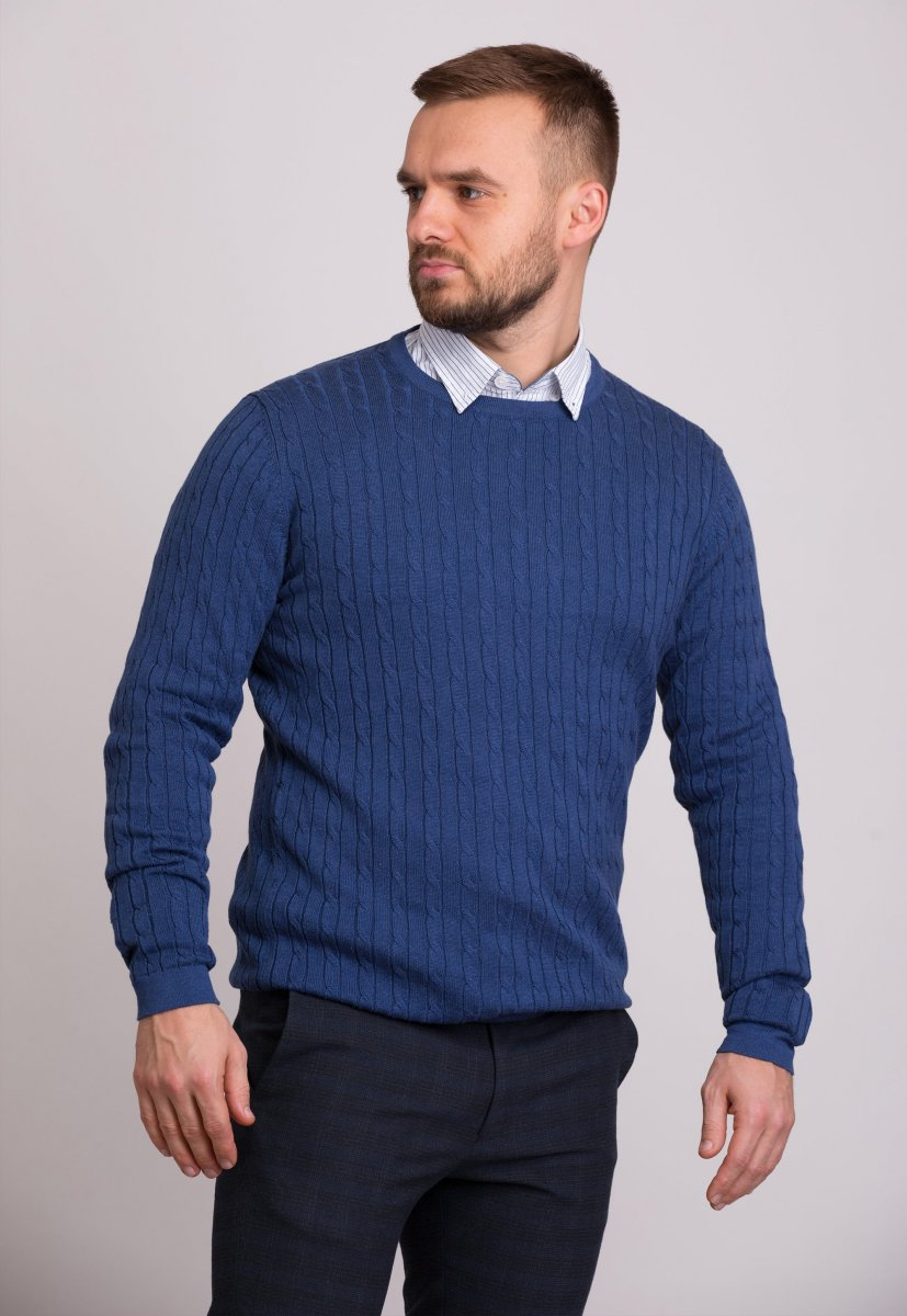 Свитер Trend Collection 33187 Синий