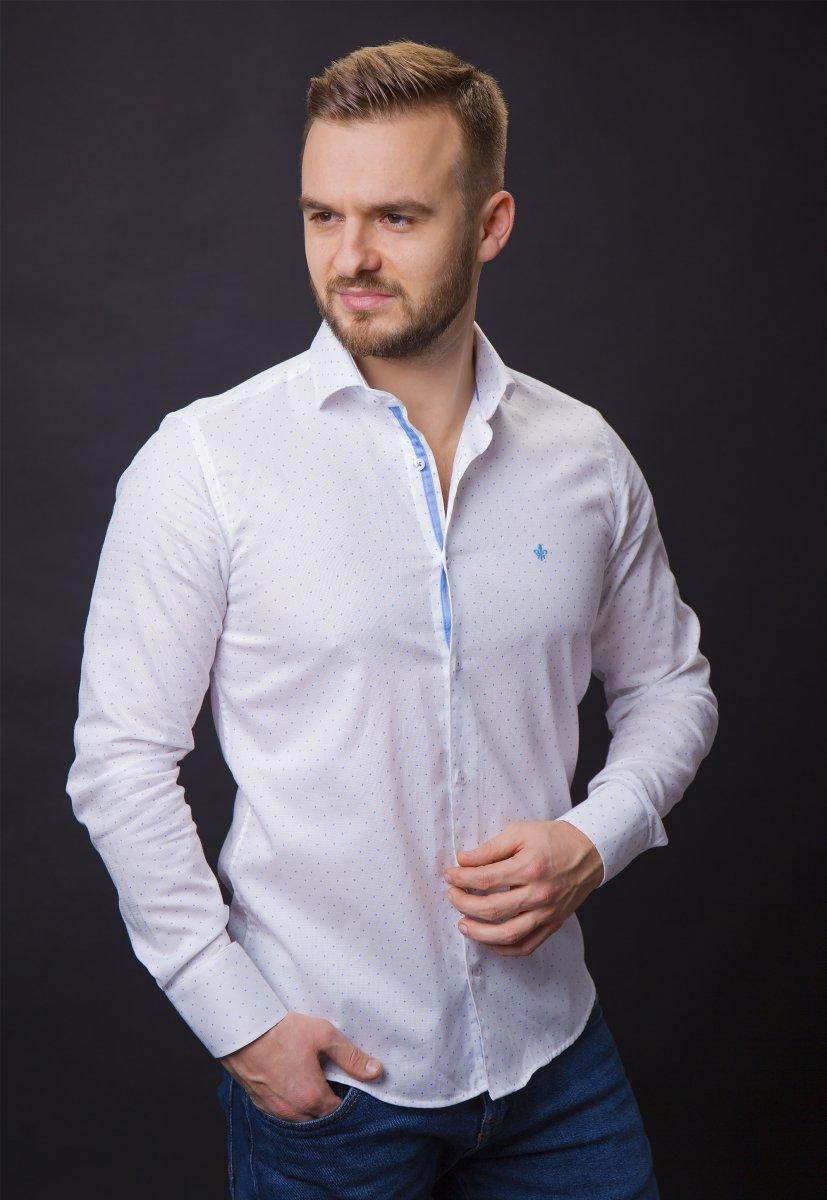 Белая рубашка Trend 02-1061