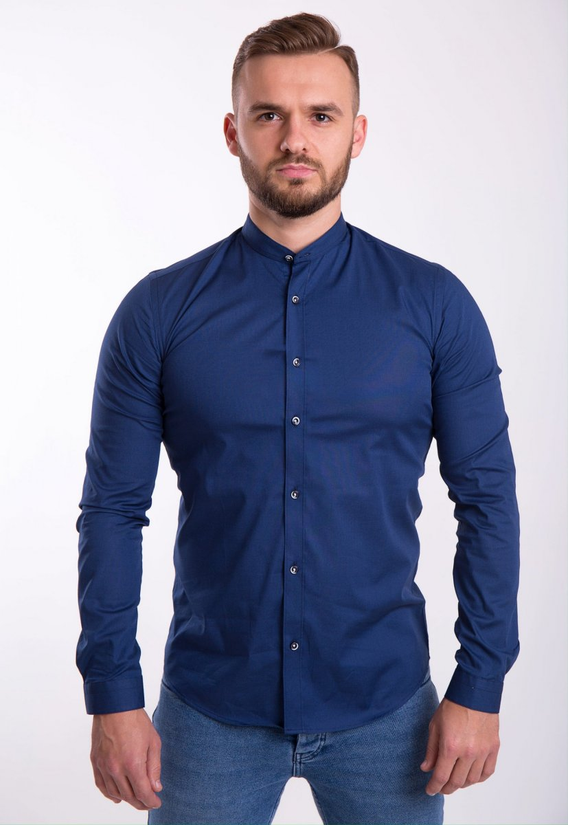 Рубашка Trend Collection U02-1047 Синий