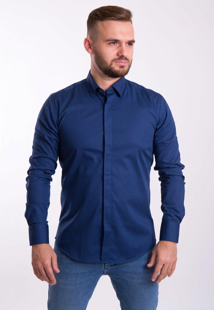 Рубашка Trend Collection U02-1100 Синий