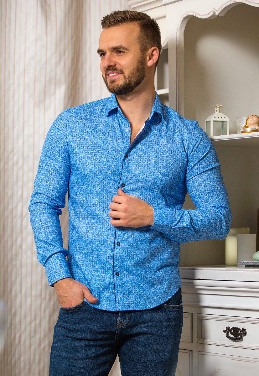 Небесная рубашка Trend 18051-01
