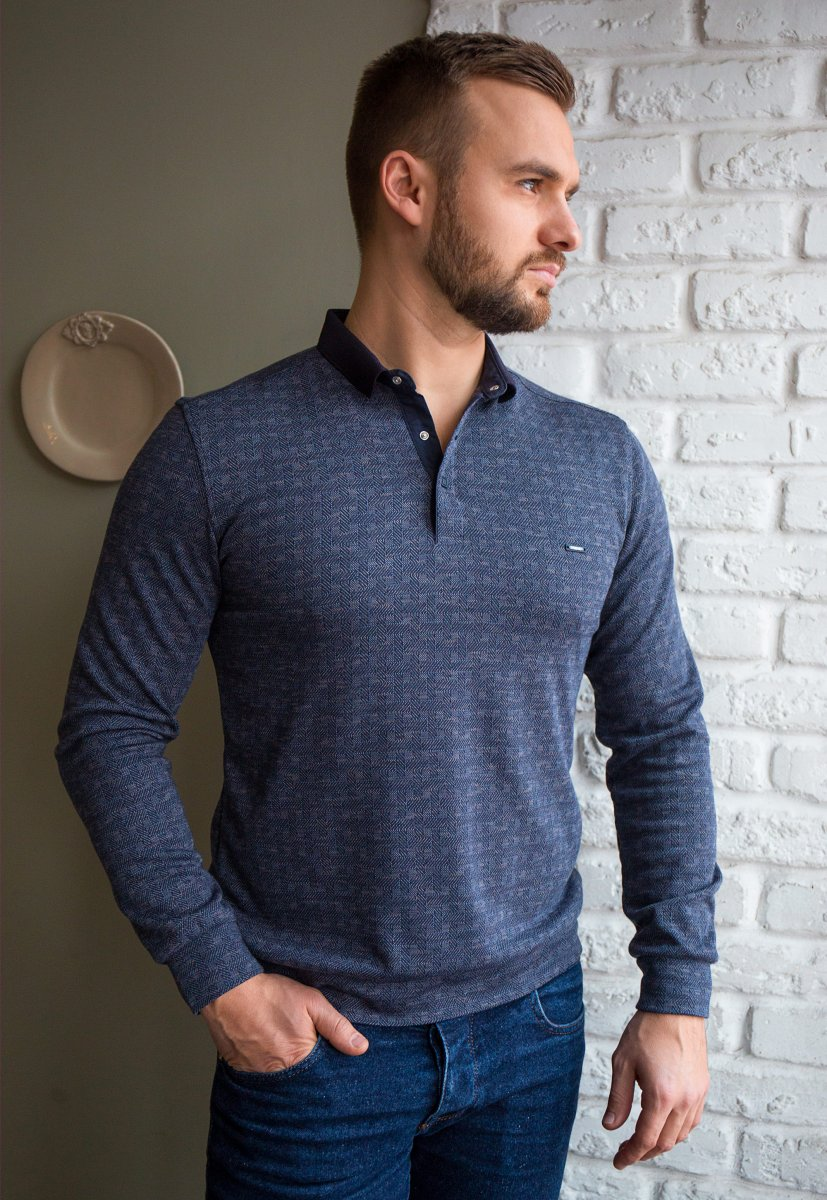 Джемпер серый Trend 8065-01