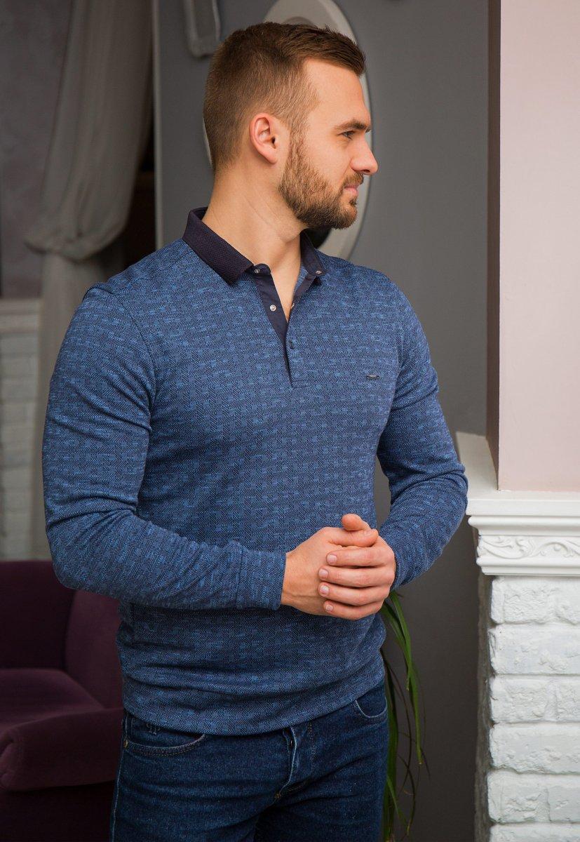Джемпер синий Trend 8065-03