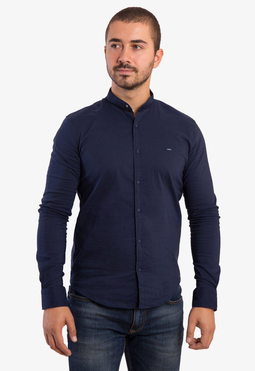 Рубашка синяя Trend 2738
