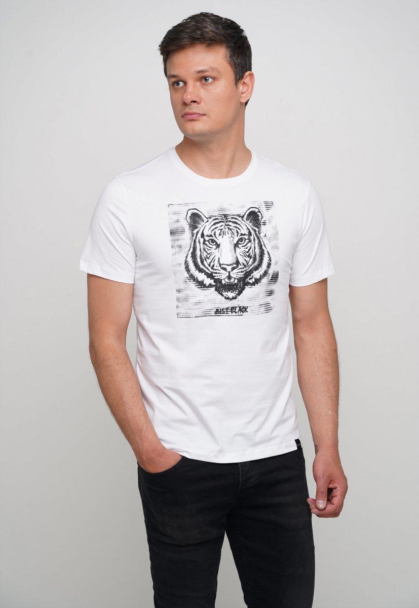 Футболка Trend Collection 70090 Белый + принт