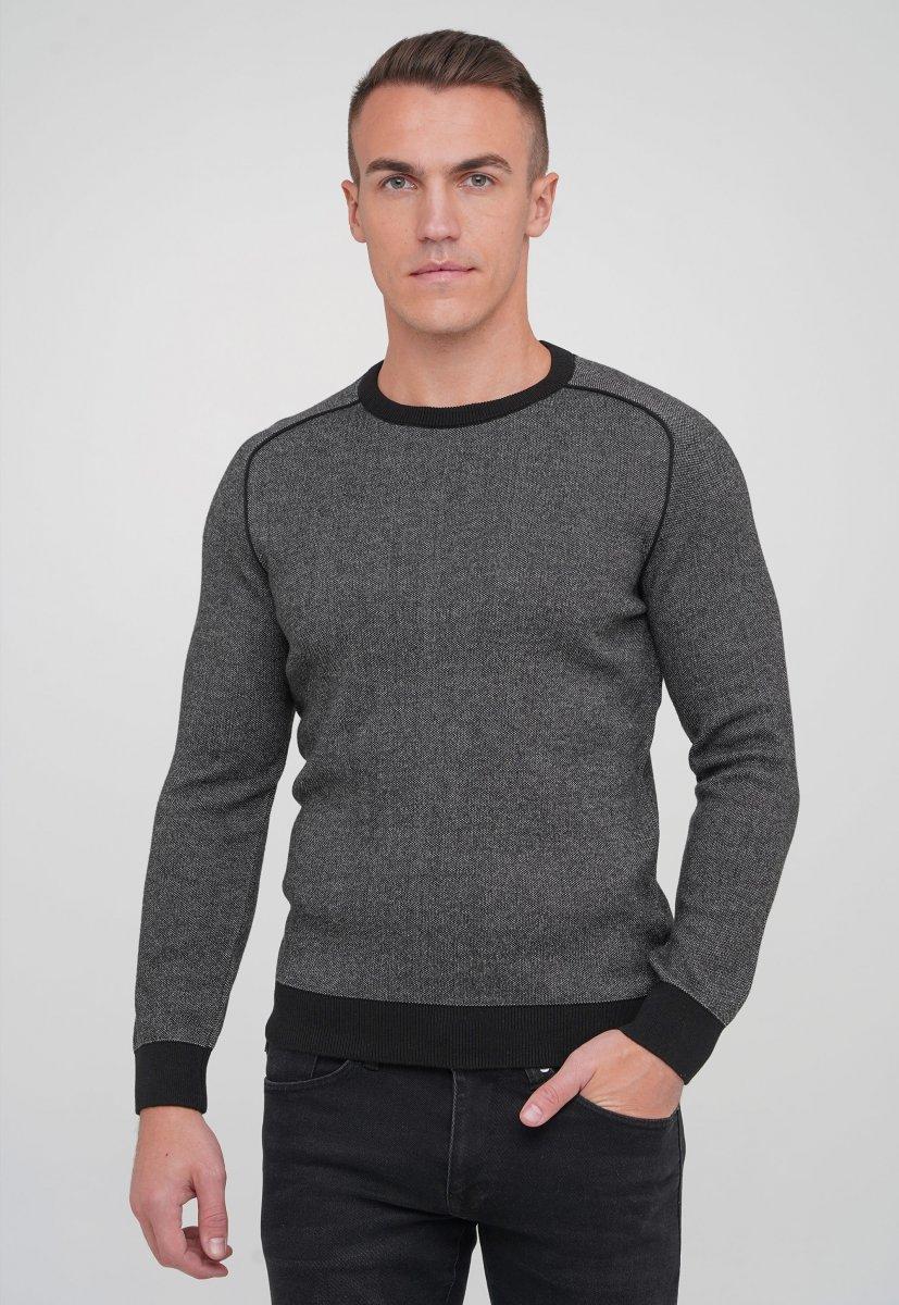 Свитер Trend Collection 191422 Черный+белый