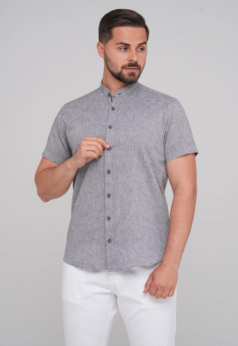 Рубашка Trend Collection 6002-1 серый