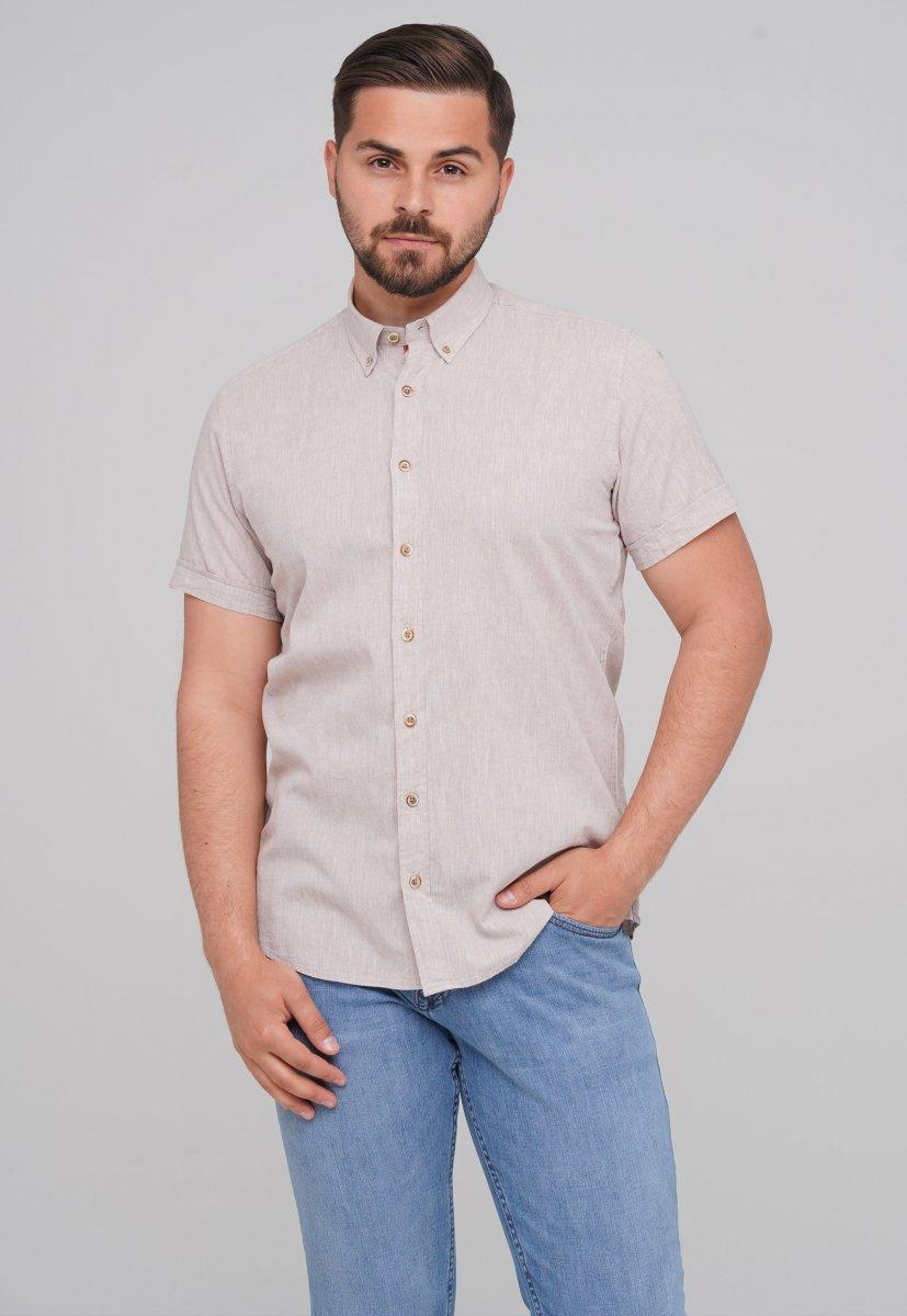 Рубашка Trend Collection 6001-1 бежевый