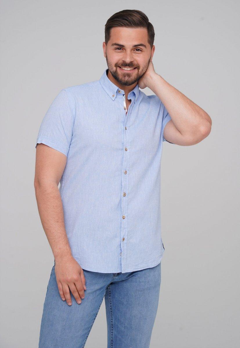 Рубашка Trend Collection 6001-1 Небесный