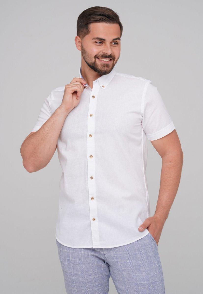Рубашка Trend Collection BAT 8001-1 Белый