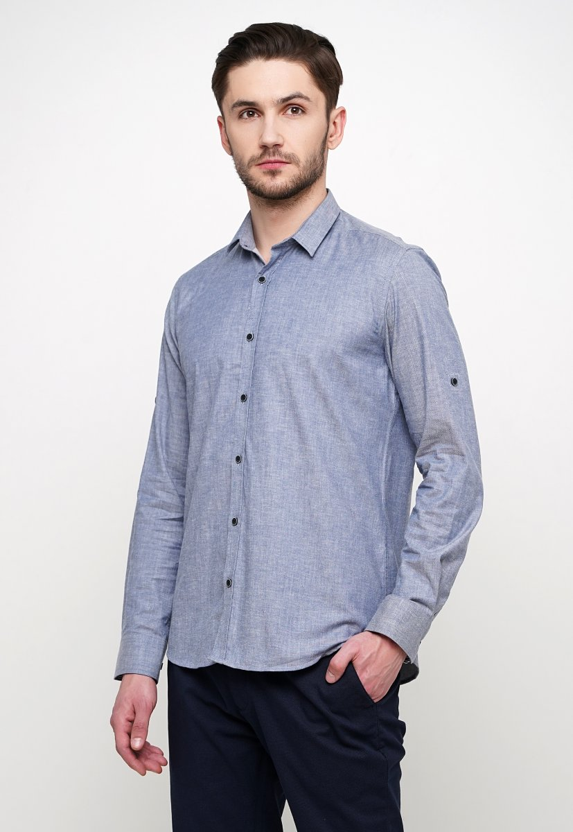 Рубашка Trend Collection 015 Серый