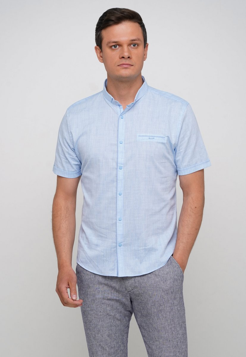 Рубашка Trend Collection 19869 Небесный